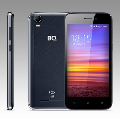 Смартфон BQ 4583 Fox Power Dark Blue