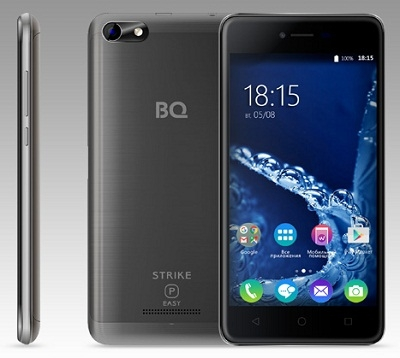 Смартфон BQ 5057 Strike 2 gray