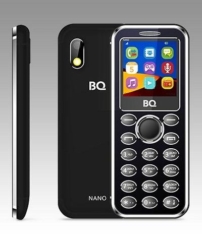 Телефон BQ RUFFE 2205 black-yellow