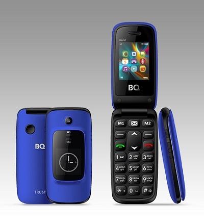 Телефон BQ Trust 2002 blue