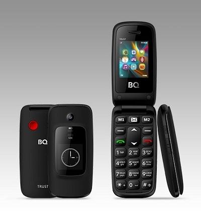 Телефон BQ Trust 2002 black