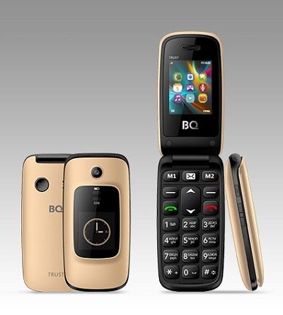 Телефон BQ Trust 2002 gold
