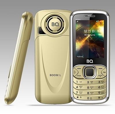 Телефон BQ BOOM L 2427 gold