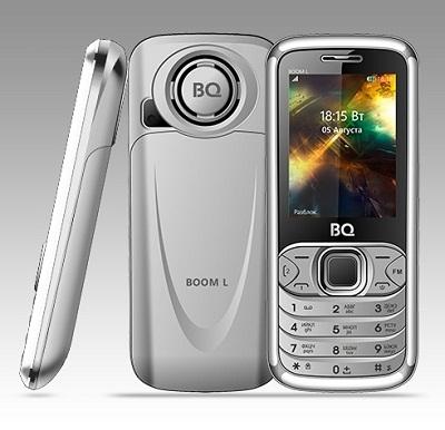 Телефон BQ BOOM L 2427 silver