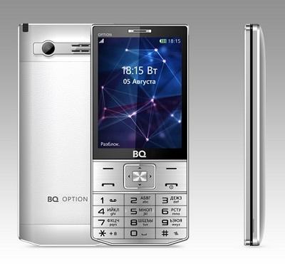 Телефон BQ Option 3201 silver