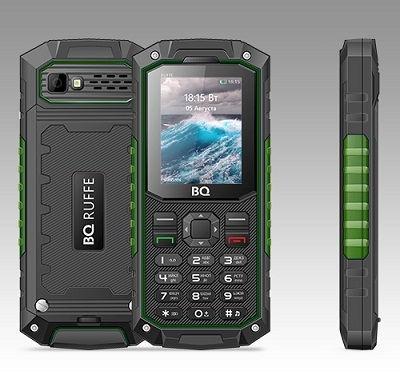 Телефон BQ RUFFE 2205 green
