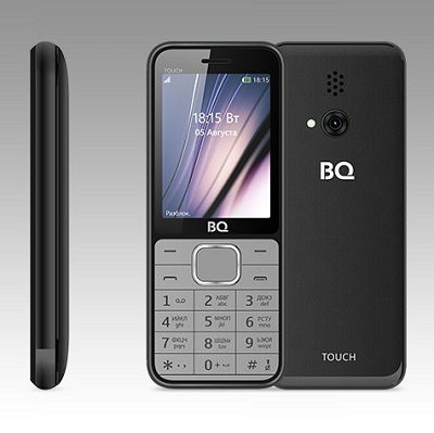 Телефон BQ TOUCH 2429 black