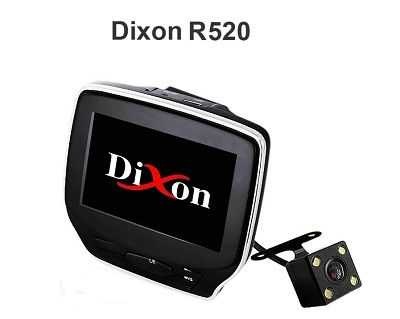 Видеорегистратор Dixon R520 (2 камеры)