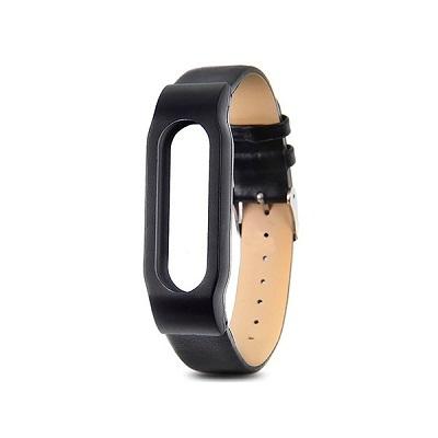 Ремешок для Xiaomi Mi Band 3 кожаный