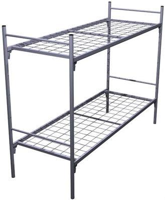 Двухъярусные кровати, Кровати металлические для детских лагерей, Кровати  оптом