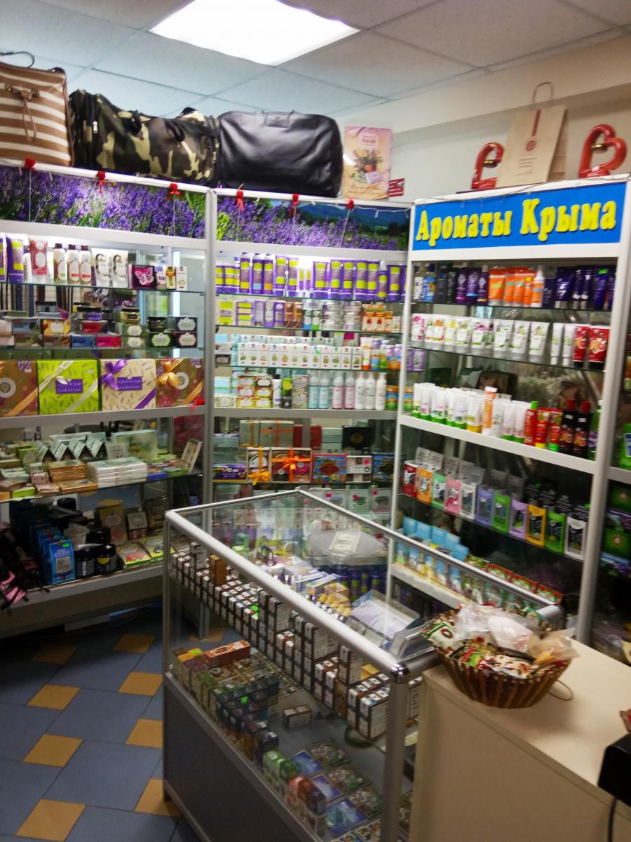 Бизнес под ключ : магазин крымской косметики