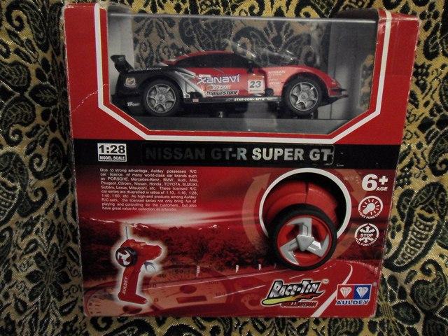 Радиоуправляемая машина Nissan GT-R Super GT