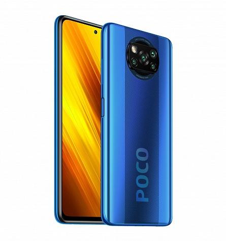 Смартфон Xiaomi POCO X3 NFC 6/64GB Blue
