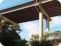 Все об Алуште: В Алуште обследовали мост для определения масштабов возможного разрушения