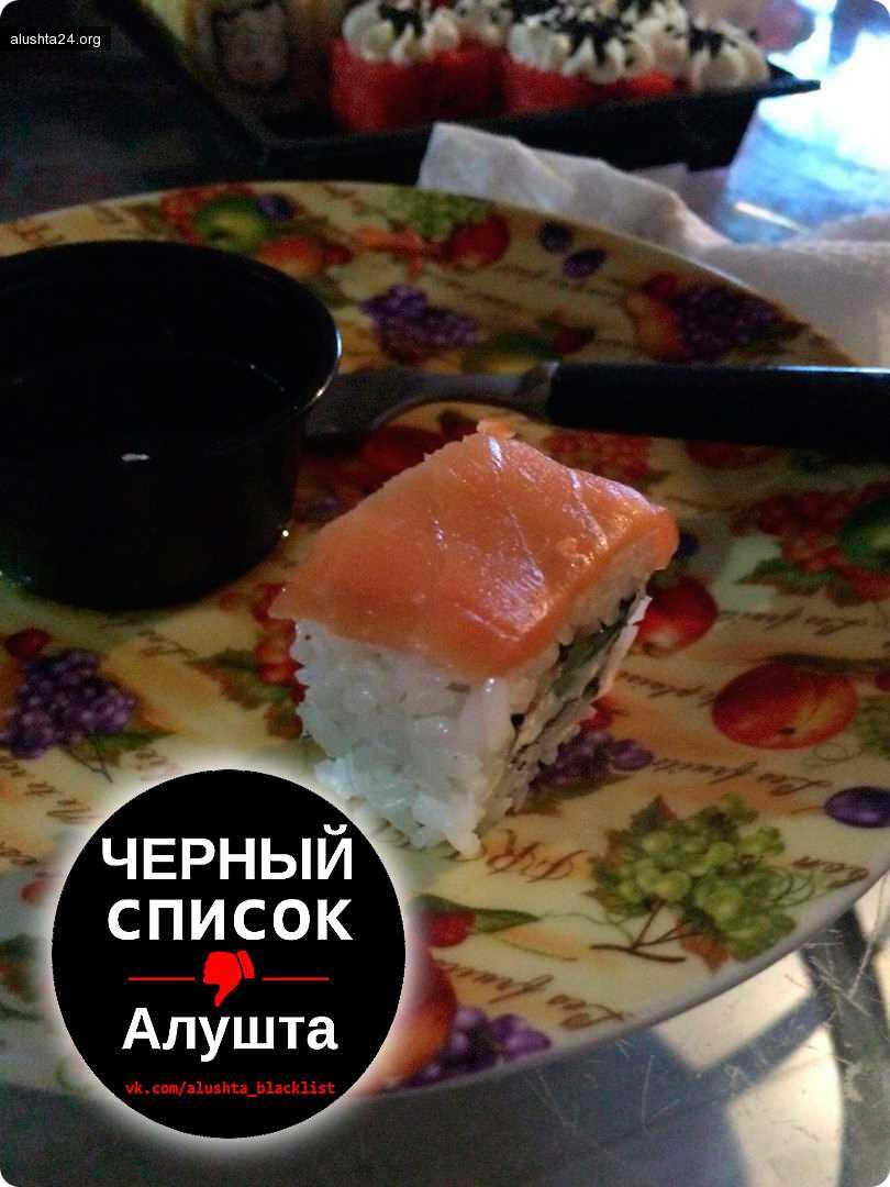Черный список: Измененные не в лучшую сторону суши Филадельфия из Суши wok