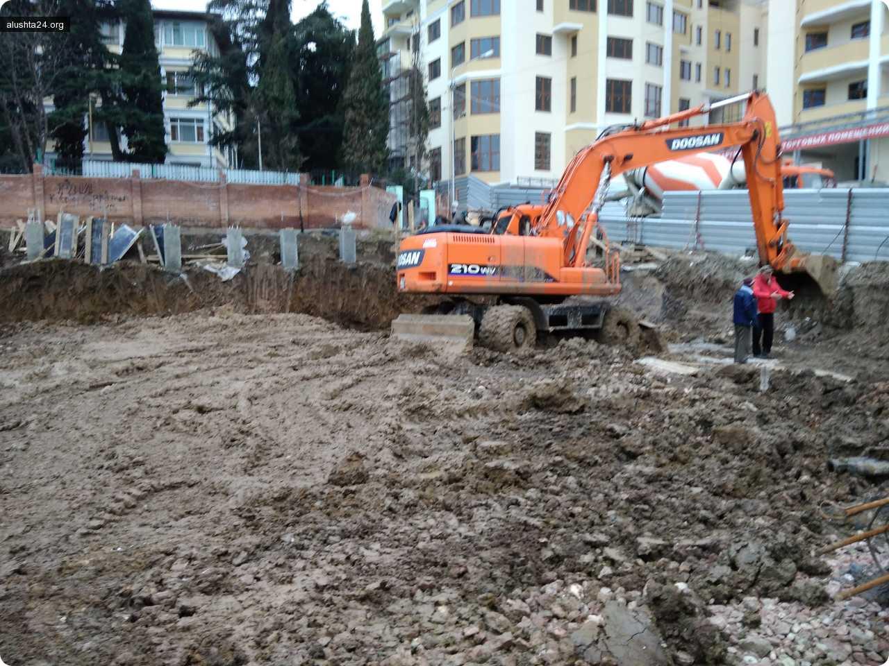 Все об Алуште: В соответствии с планами продолжается освоение Приморского парка
