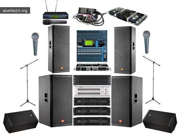 Статьи: Аренда звуковой аппаратуры и особенности услуги 12 января 2018