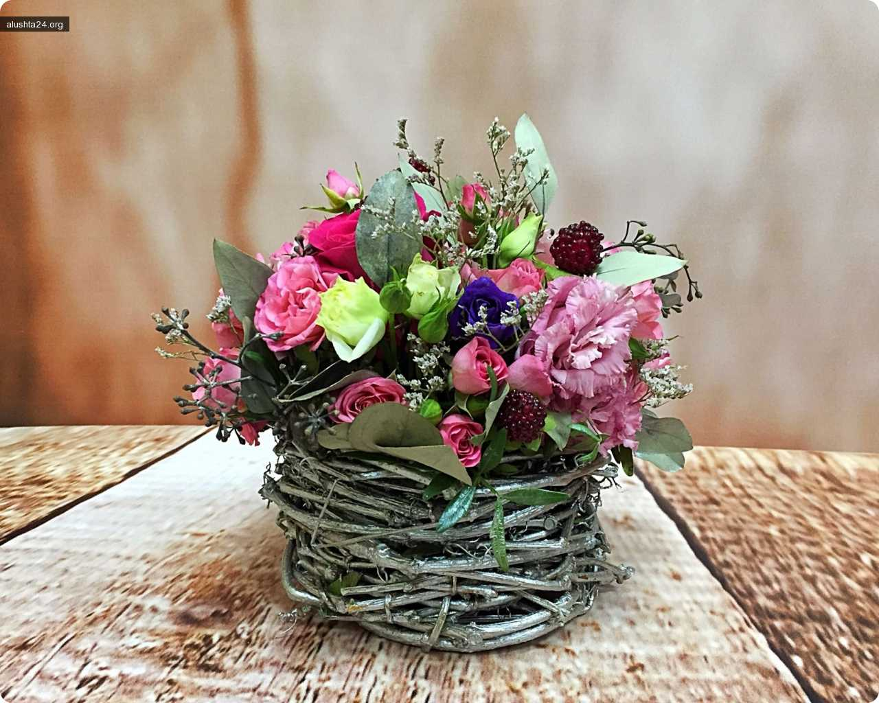 Блог им. Leno4ka: Мои цветочные композиции